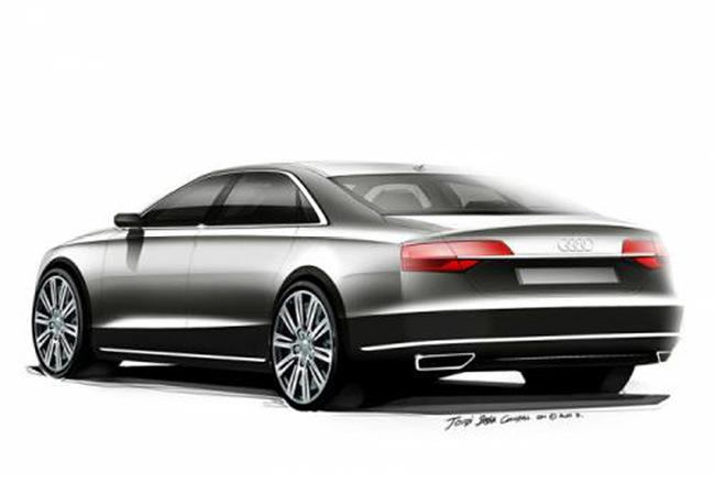 Foto de Audi A8 2015: Primeros bocetos (3/5)