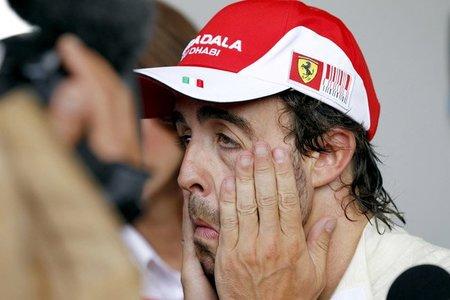 Fernando Alonso pesimista ante las próximas mejoras en el Ferrari F10