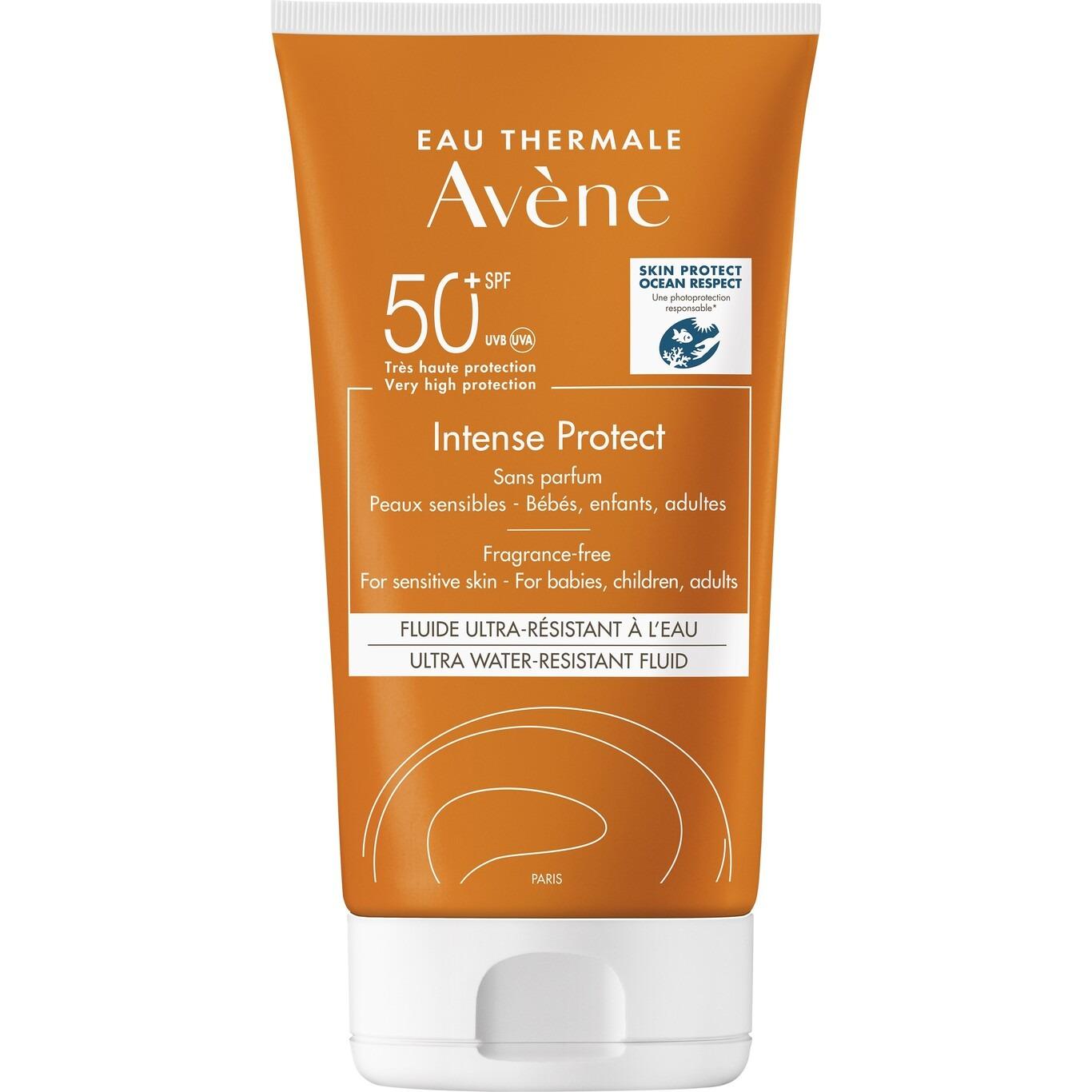Crema solar Avène Solar Intense Protect SPF50+,