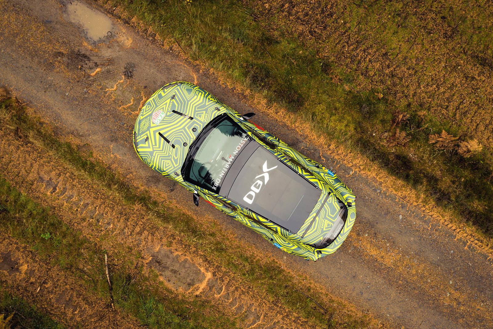 Foto de Aston Martin DBX, primeras imágenes (6/13)