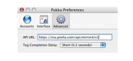 Pukka 1.5 gana soporte para Ma.gnolia