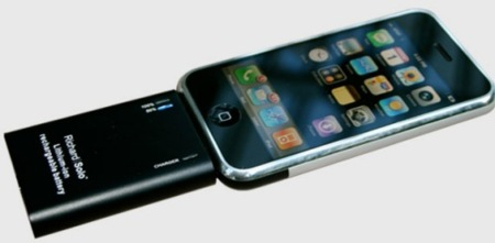Richard Solo, batería para ampliar la autonomía del iPhone