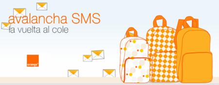 Nueva avalancha de mensajes en Orange