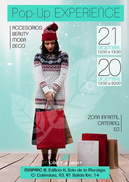 Flyer Anverso Pop Up Loftmint
