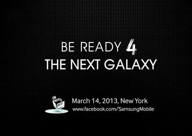 Fecha nuevo Galaxy S4