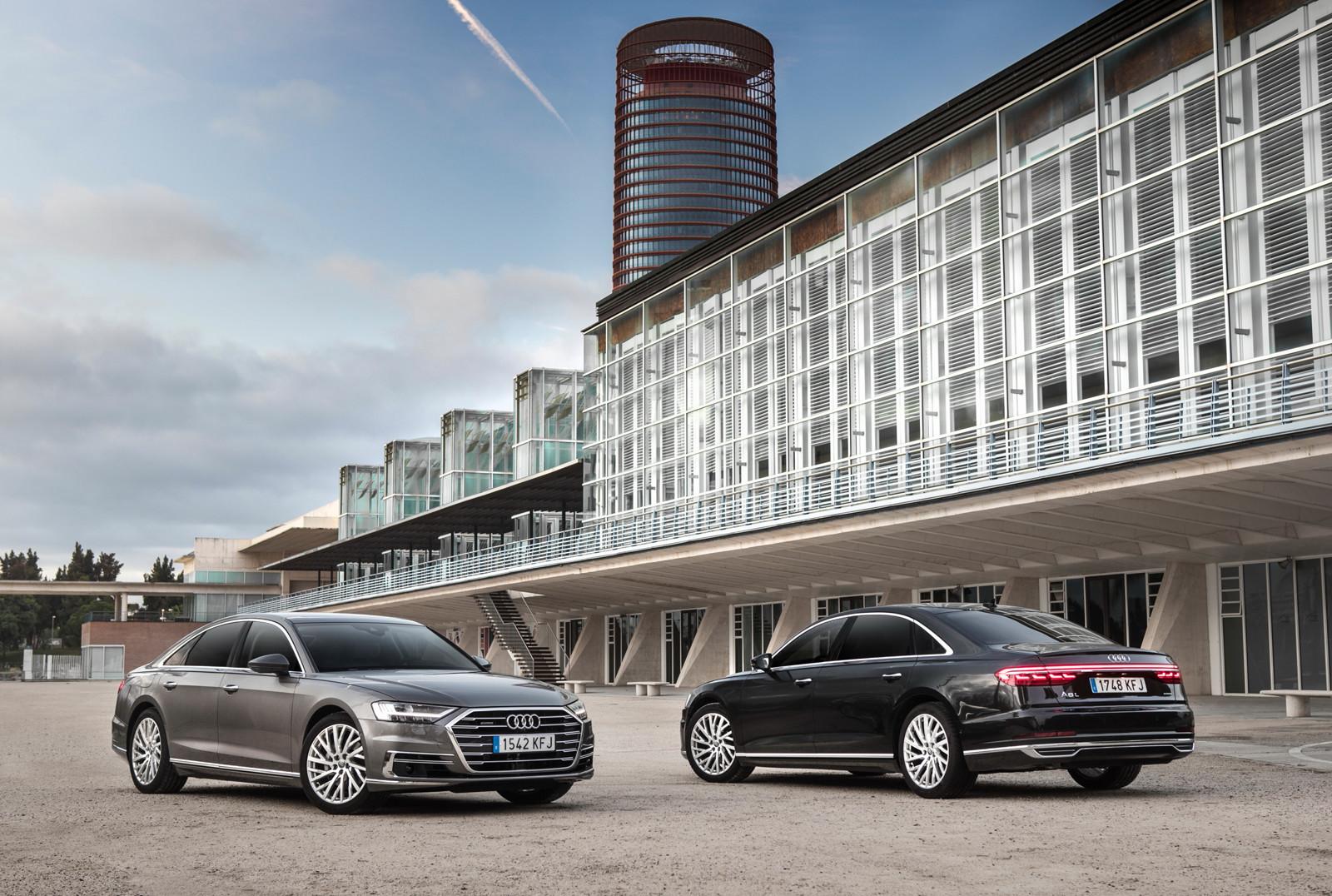 Foto de Audi A8 2018 (presentación) (80/81)
