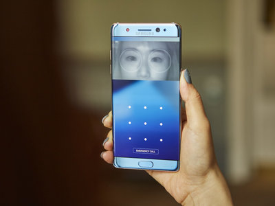 Samsung rescataría el escáner de iris del Note 7 en el Galaxy S8