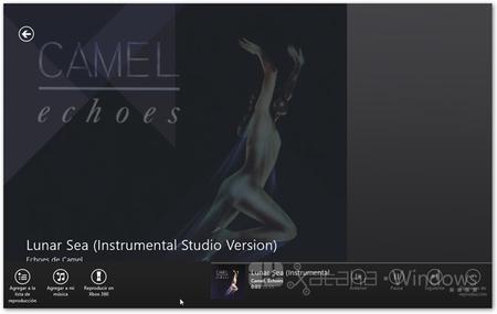 XboxMusic controles