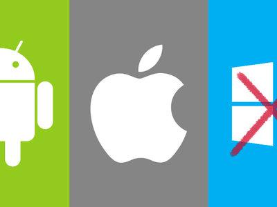 Caminamos irremediablemente hacia un duopolio en sistemas operativos móviles