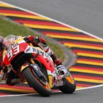 Marc Márquez logra una soberbia victoria de trilero en el Gran Premio de Alemania