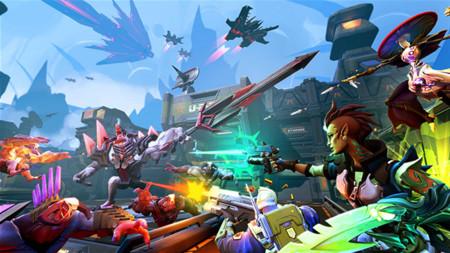 Battleborn tendrá ajustes de dificultad según el número de jugadores que se encuentren en el cooperativo