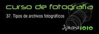 Curso de Fotografía: 37. Tipos de archivos fotográficos