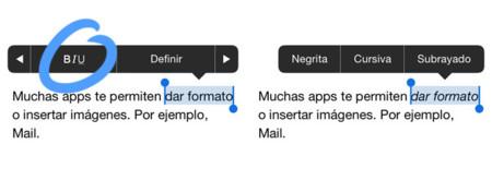 Teclado iOS 7
