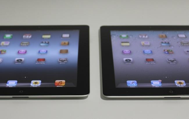 dos iPad frente a frente