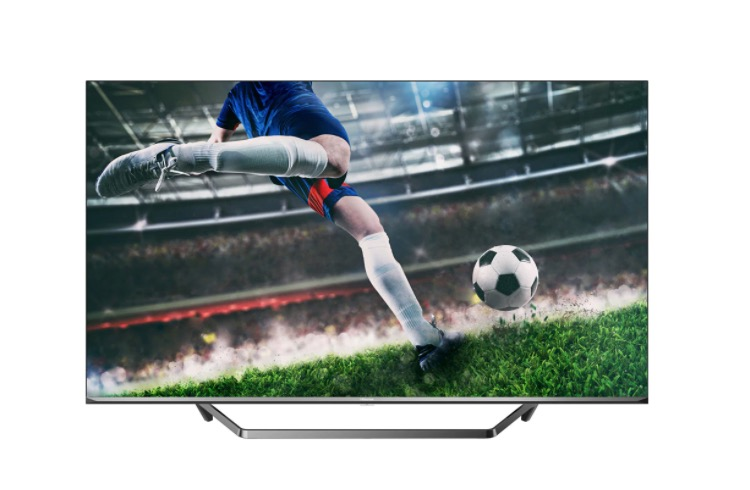 "TV LED 138,7 cm (55"") Hisense 55U7QF UHD 4K Dolby Vision, Dolby Atmos, Modo Game y Smart TV"
