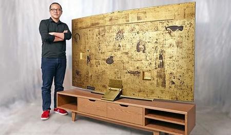 Samsung crea la televisión de oro puro