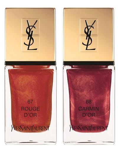 Ysl Holiday 2015 La Laque Couture