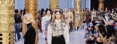 Chloé se rinde a la estética de los años setenta en su desfile Otoño-Invierno 2020/21 celebrado en la Semana de la Moda de París