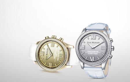 HP pone el cerebro y Swarovski la distinción en los relojes de Isaac Mizrahi