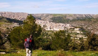 Viaje a Sicilia: Paseo en bicicleta por Ragusa