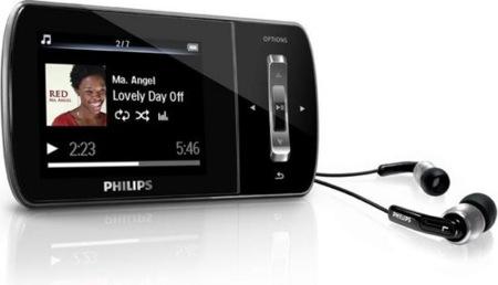 Philips GoGear Ariaz mejora la calidad de sonido al reproducir música