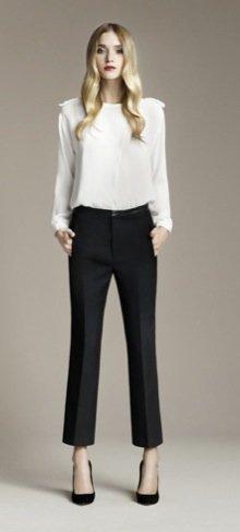 Zara Otoño 2010 blanco y negro