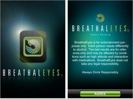 BreathalEyes, o cómo medir la alcoholemia con un iPhone