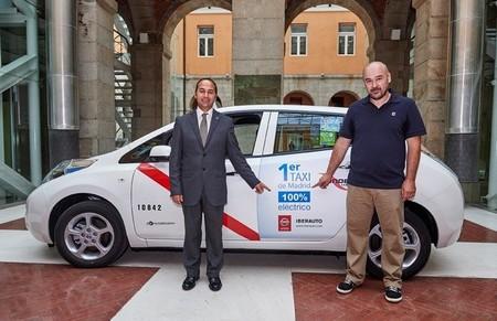 El primer taxi eléctrico por fin llega a Madrid
