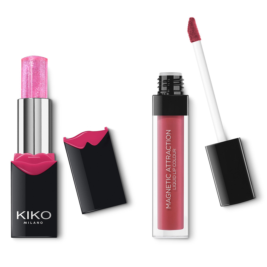MAGNETIC ATTRACTION PERFECT LIP KIT Kit labios perfectos: labial líquido mate y bálsamo