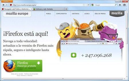 Lanzamiento oficial de Firefox 5, primer navegador con soporte Do-Not-Track multiplataforma. A fondo