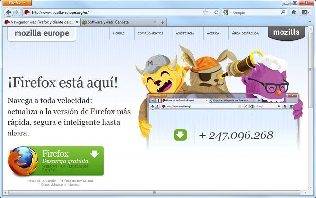 firefox-5-lanzamiento
