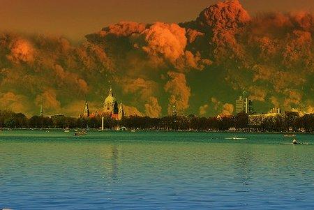 Algunas consecuencias de la erupción volcánica