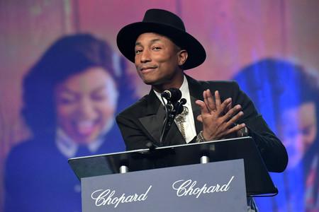 Pharrell Williams comienza mal el año con su look en el Festival de cine de Palm Springs