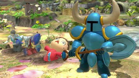 Super Smash Bros Ultimate Shovel Knight
