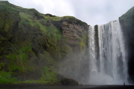 Skógafoss, una de las bellezas naturales de Islandia