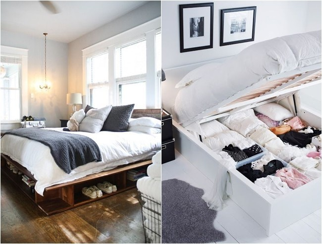 8 ideas para decorar dormitorios peque os - Soluciones para dormitorios pequenos ...