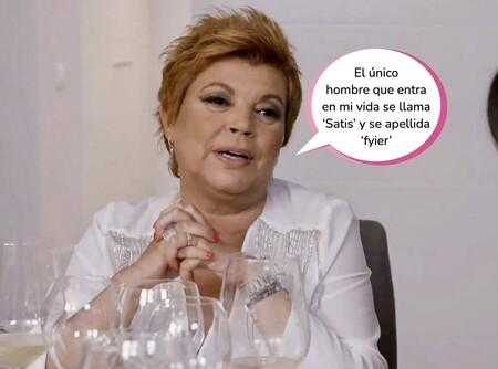 Sexo, hombres y algún ron cola: Terelu Campos se explaya en 'Ven a Cenar Conmigo' y desvela su situación sentimental