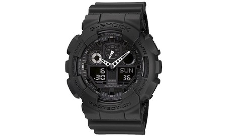 Con el Casio G-Shock GA-100-1A1ER tienes reloj para rato por 71 euros en Amazon