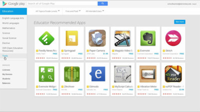Google Play for Education ya disponible en Estados Unidos