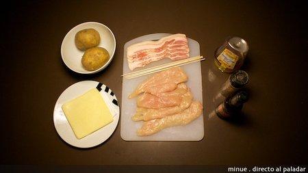 Rollitos de pechuga - ingredientes