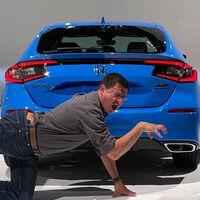 ¡Filtrado! El Honda Civic Hatchback 2022 se destapa antes de tiempo por error de un youtuber
