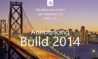 Build 2014 de Microsoft se realizará el próximo 2 de abril