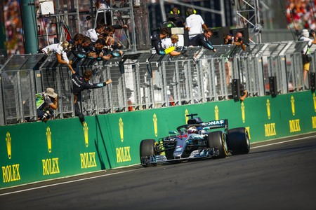 Hamilton Hungria F1 2019