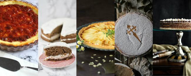 Las cinco tartas más buscadas de Internet y sus recetas más fáciles y deliciosas