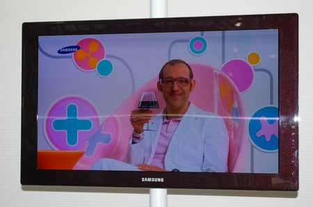 Prototipo de Samsung de OLED de 31 pulgadas