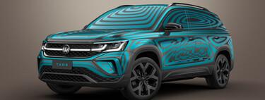 El Volkswagen Taos deja poco a la imaginación en sus nuevos teasers y confirma motor