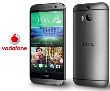 Precios HTC One (M8) en color Plata exclusivo con Vodafone y comparativa con la competencia