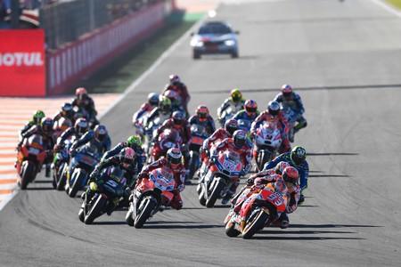 Salida Gran Premio Valencia 2017