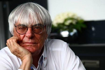 Bernie Ecclestone está en contra del cambio en la reglamentación de motores