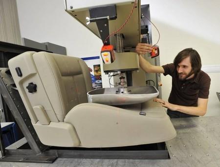 Pruebas técnicas en los asientos del Ford Kuga